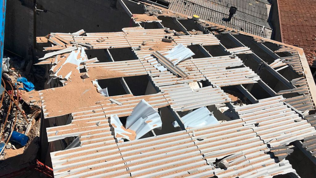 Recuperació de nau sinistrada per incendi. Proquibasa, Barcelona