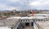 Recuperació de nau sinistrada per incendi. Vallverd, S.A., Barcelona