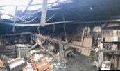 Recuperació de nau sinistrada per incendi. Incarfoods Company, S.L., Tona