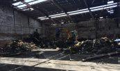 Recuperació de nau sinistrada per incendi. Inmopaca, S.A., Palafolls