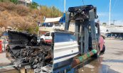 Recuperació d'embarcacions sinistrades per incendi, Port Marina Palamós.