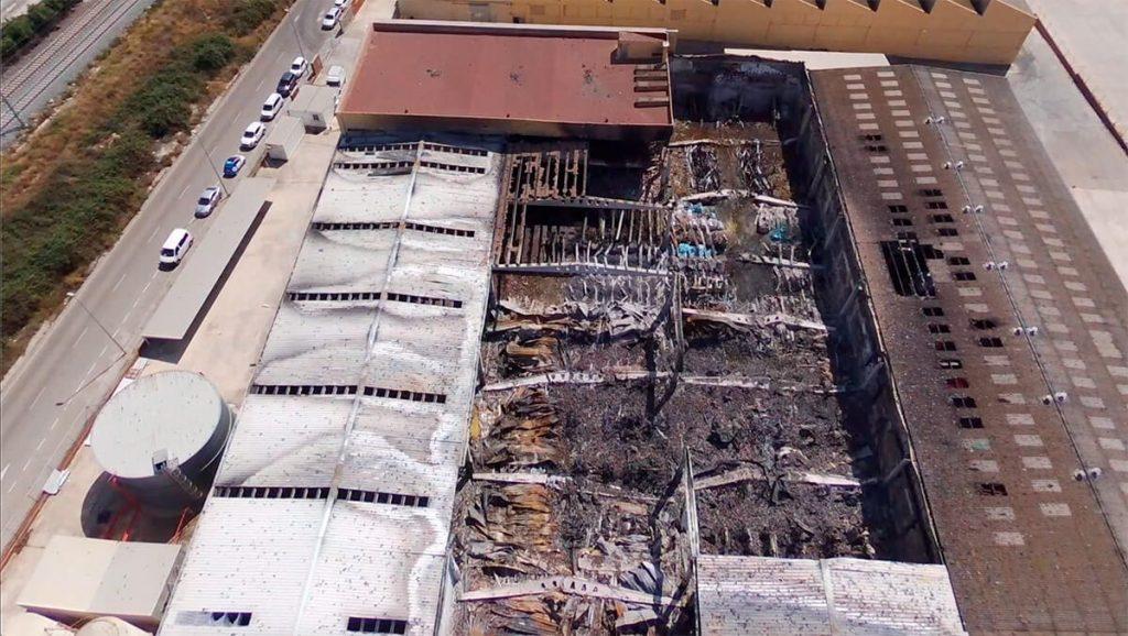 Recuperació de nau sinistrada per incendi, Miasa Logística, S.L.
