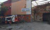 Recuperació de nau sinistrada per incendi. Monram, S.L., Sant Cugat del Vallés