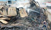 Recuperació de nau sinistrada per incendi. Perarnau Serrat, Sant Fruitós