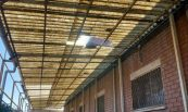 Reparació de coberta. Alan Communications, S.A., Cornellà del Prat