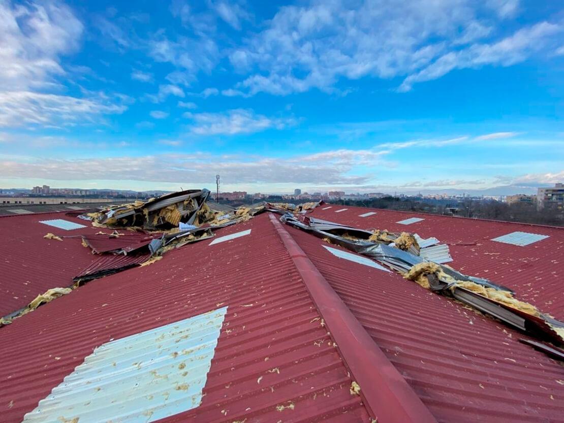Recuperació d'espais afectats per desperfectes naturals
