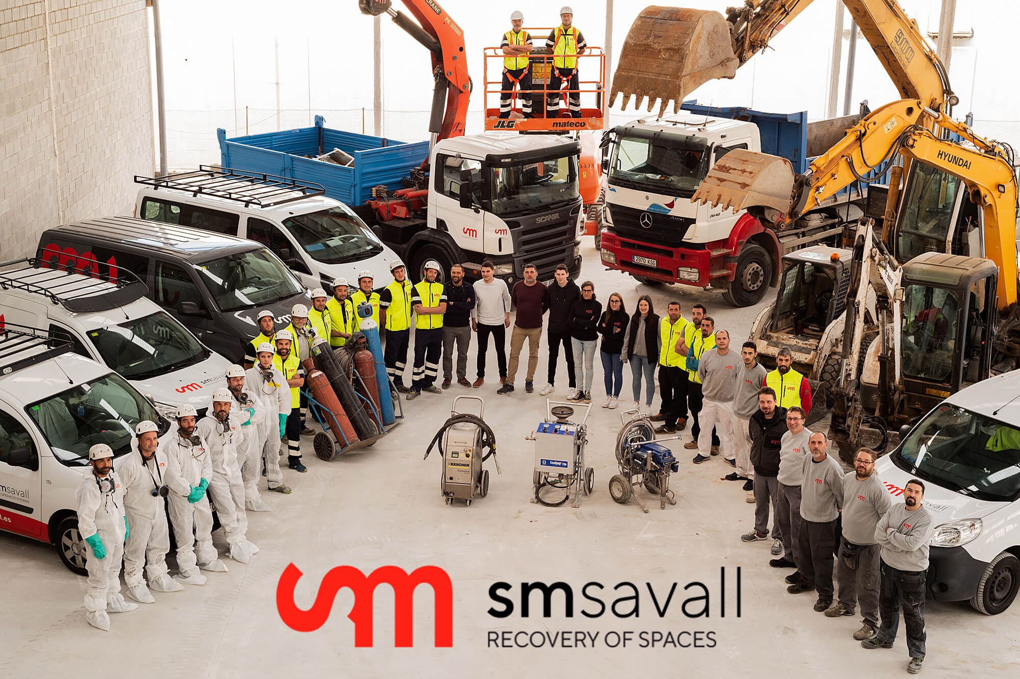 Recovery of spaces SM SAVALL